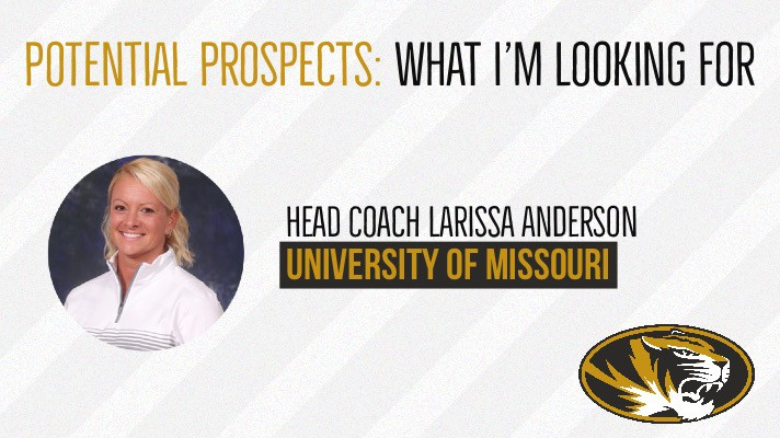 POTENTIAL PROSPECTS: What I'm looking for By Larissa Anderson