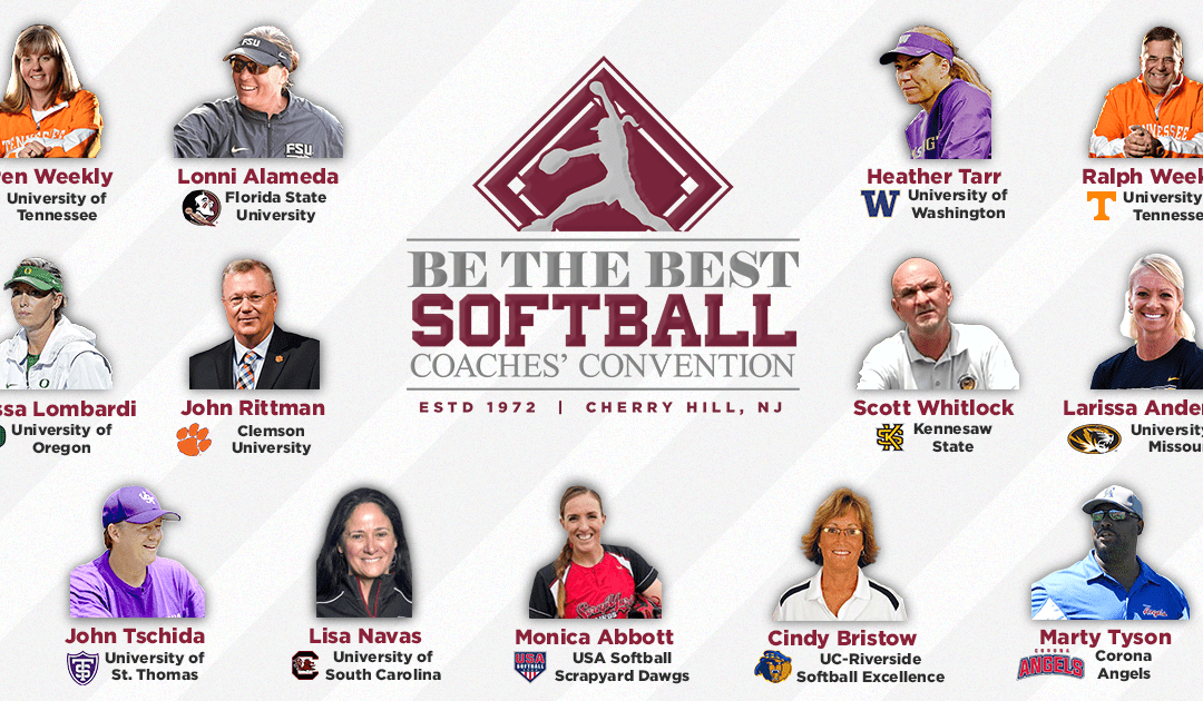 Be the Best Announces Softball Speaker Line-up
